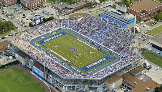 MTSU moved to Conference USA from the Sun Belt in 2013.