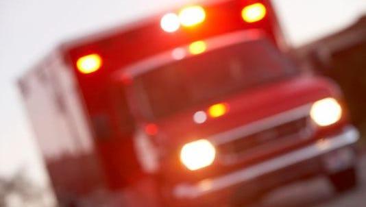 A motorist died after his car hit a house in Pennsauken.