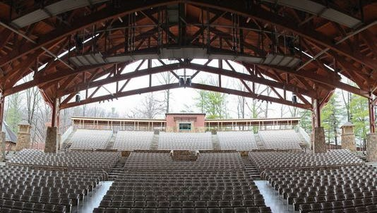 View of Iroquois Amphitheater at Iroquois Park in Louisville. Dec. 8, 2012
