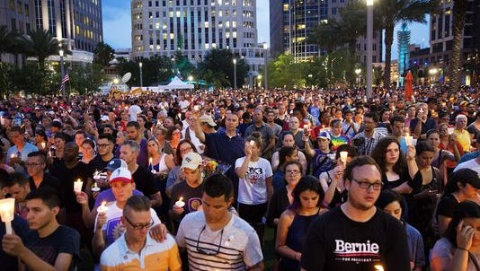 Vigil in Orlando