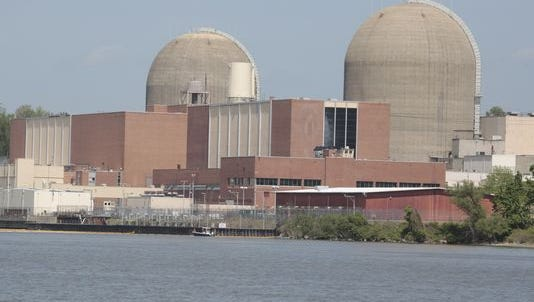 The Indian Point Nuclear Power Plant in Buchanan, NY.