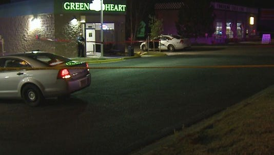 A security guard died after being shot at a dispensary in Aurora.