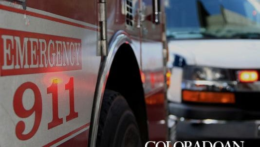 A man was airlifted to the hospital with serious injuries Monday.