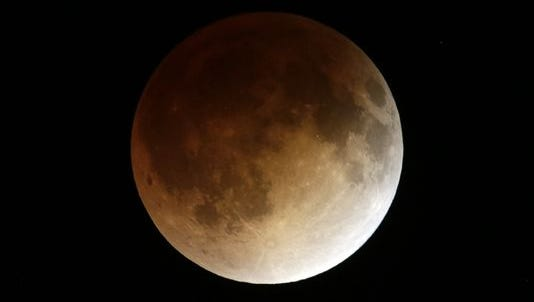 Some moon sightings, like this total lunar eclipse on April 15, 2014, have us looking to the stars.