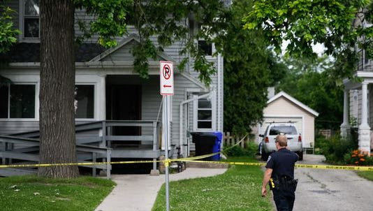 One person was found dead after a house fire in the 500 block of North Division Street on Wednesday morning.