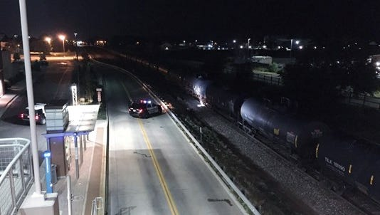 A train struck and killed a man in Fort Collins Sunday morning.