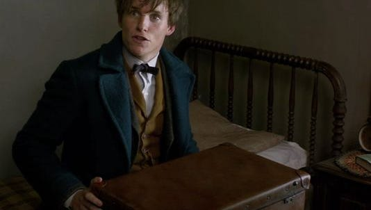 Eddie Redmayne in 'Fantastic Beasts and Where to Find Them.'