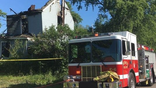 A man was found dead during an early Saturday fire in the 600 block of North Madison Street.