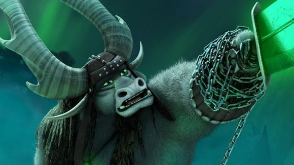 """J.K. Simmons plays the villain, Kai, in the latest installment to the """"Kung Fu Panda"""" franchise."""