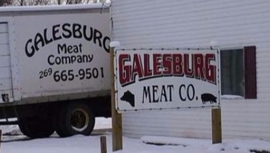 Galesburg Meat Company.