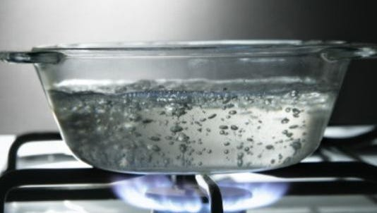 An area of the Rapides Island Water Association district is under a water boil advisory until further notice.