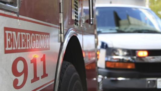 A motorcycle and combine collided Saturday night in Preble County.