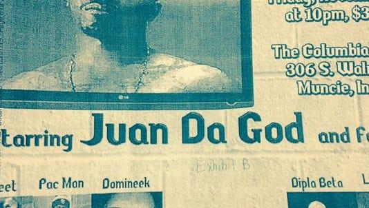 Djuane McPhaul is also known as Juan Da god.