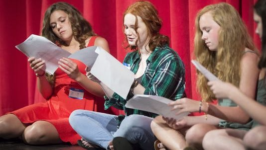 Students audition for Muncie Civic Theatre's CAMP on June 25.