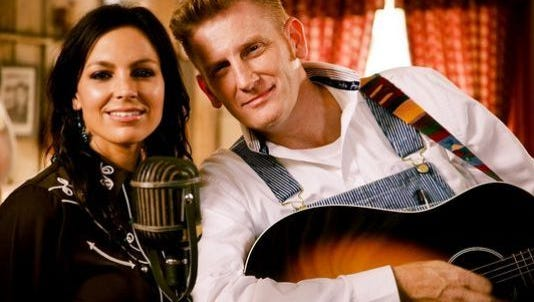 Country duo Joey and Rory Feek.