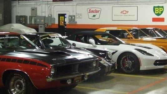 The warehouse at Reliable Carriers Inc. in Canton Township is full of collectible vehicles, some of which are heading to Sunday's Concours d'Elegance of America in Plymouth Township.