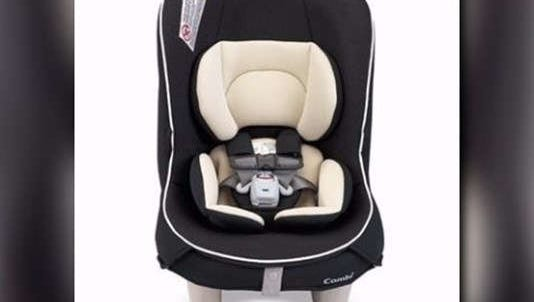 Combi recalls Coccoro Convertible Child Restraints.