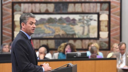 Reno City Manager Andrew Clinger.