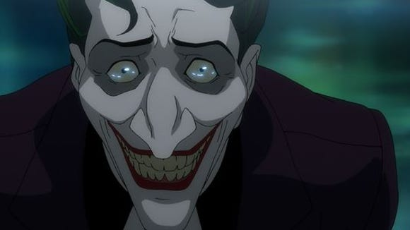 "Mark Hamill returned to voice the Joker in ""The Killing Joke"""
