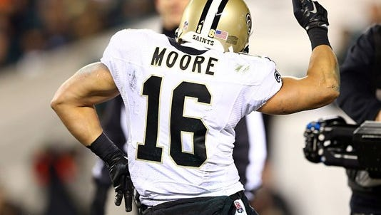 Longtime Saints receiver Lance Moore has announced he is retiring from the National Football League.