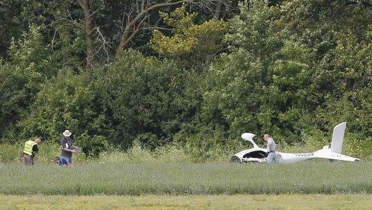 A plane crash July 28 at Fond du Lac County Airport