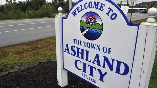 The town of Ashland City