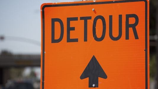 There will be road closures and detours in Maple Shade next week for a railroad crossing rehab project.