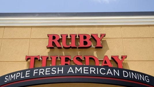 Ruby Tuesday said it had a total of 724 locations as of May 31. There were four restaurants in central Indiana.