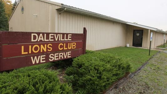 The Daleville Lions Club near the corner of 6th and Edwards Street remains closed with a sign mentioning about a location change of the community breakfast after they opted to close the club and turned the building over to the Town of Daleville. The Daleville United Methodist Church has expressed interest in continuing the community breakfasts.