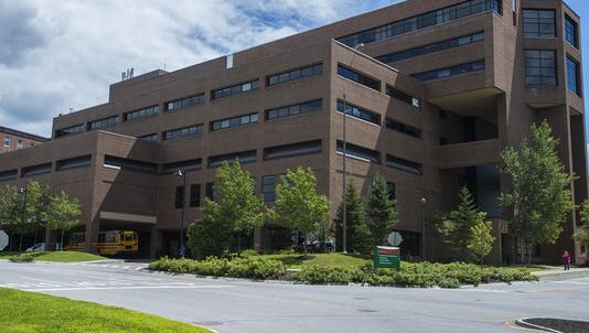 The McClure building at the UVM Medical Center.