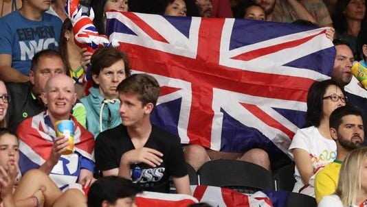 Great Britain team members reported robbed by gunpoint at Olympic games.