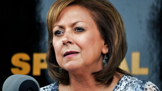 Gov. Susanna Martinez said she will call for a special legislative session in an effort to shore up the state's finances.