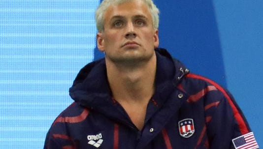 Brazilian police say U.S. swimmer Ryan Lochte lied about being robbed at gunpoint.