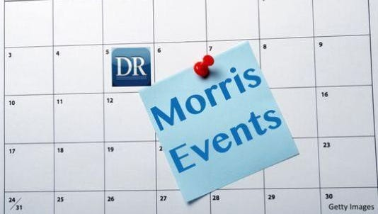Mark your calendar for these upcoming events in Morris County.