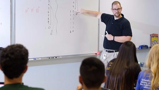 Daniel Moix, a teacher at Arkansas School for Mathematics, Sciences and Arts has been named a recipient of the Presidential Award for Excellence in Mathematics and Science Teaching.
