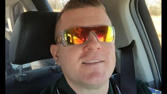 Nick Tullier was wounded in the July 17 attack on law enforcement in Baton Rouge.