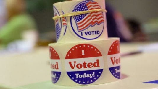 A strong turnout for mail and early voting should make election day voting light.