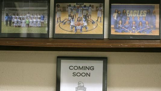 A spot is reserved in the athletic department at the College of St. Elizabeth for the newly formed men's basketball team.