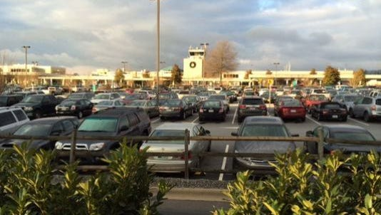 Asheville Regional Airport did tow 287 vehicles to other lots on site this week to accommodate construction on a new parking deck.