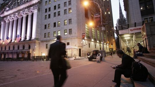 Wall Street prepares for another day of trading.