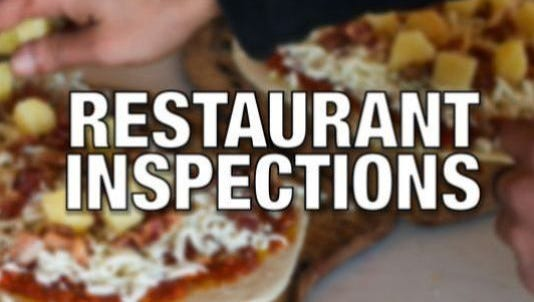 One restaurant was out of compliance during York County health inspections Aug. 31 to Sept. 14.
