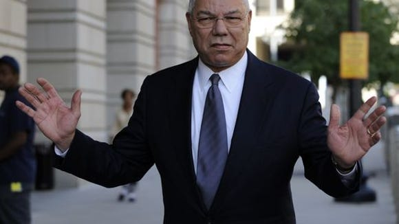 Colin Powell airs some grievances.