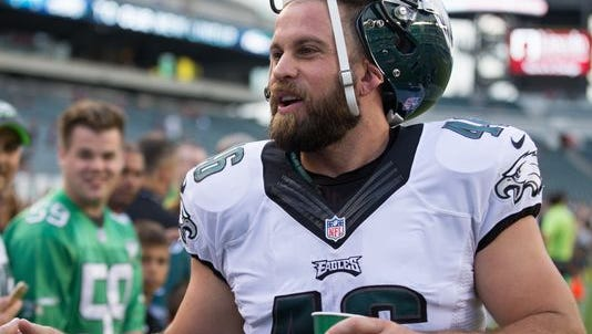 """Eagles long snapper Jon Dorenbos finished third on the NBC show """"America's Got Talent"""", then made it back in time for practice Thursday."""