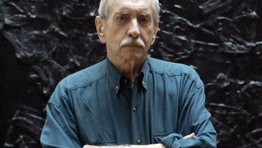 A 2008 photo of Edward Albee