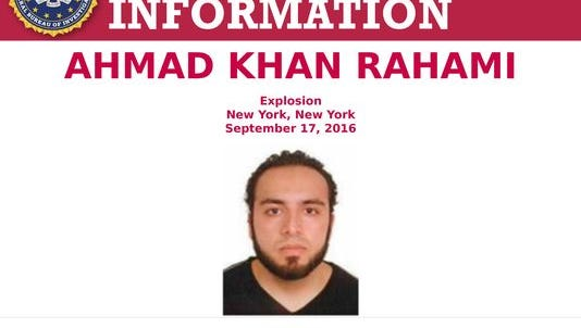 Rahami wanted by authorities.
