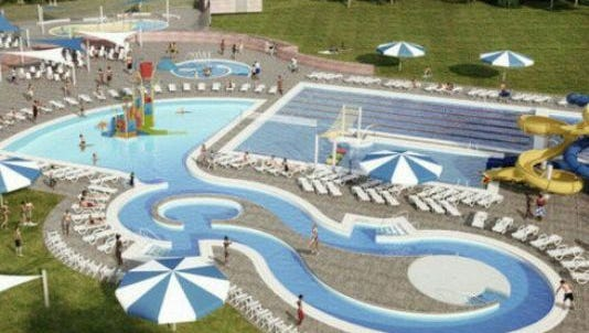 Bonds were sold to finance a proposed new aquatic center at Memorial Park in Chambersburg next year.