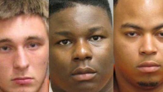 Three one-time athletes at Faulkner University in Montgomery have been indicted on murder charges in the death of another school athlete.