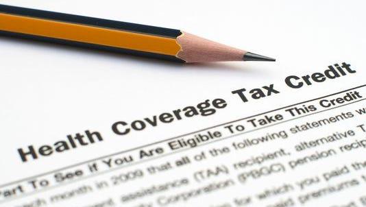 Health coverage tax credit.