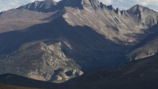 A Greeley man died after a more than 100-foot fall on Longs Peak on Saturday.