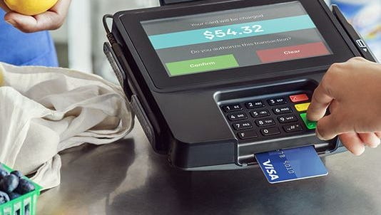 Chip-enabled cards mark one-year anniversary.